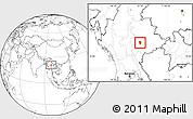 Blank Location Map of Loi Lem