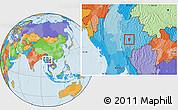 Political Location Map of Loi Lem