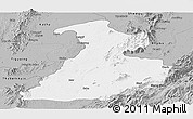 Gray Panoramic Map of Mabein