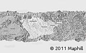 Gray Panoramic Map of Man Hpang