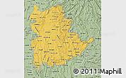 Savanna Style Map of Shan