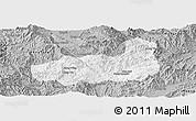 Gray Panoramic Map of Mong Hpayak