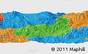 Political Panoramic Map of Mong Hpayak