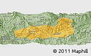 Savanna Style Panoramic Map of Mong Hpayak
