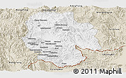 Classic Style Panoramic Map of Mong Hsat