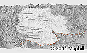 Gray Panoramic Map of Mong Hsat