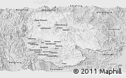 Silver Style Panoramic Map of Mong Hsat