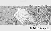 Gray Panoramic Map of Mong Hsu