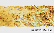 Physical Panoramic Map of Mong Hsu