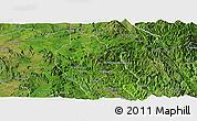 Satellite Panoramic Map of Mong Hsu