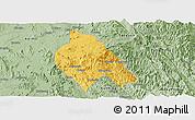 Savanna Style Panoramic Map of Mong Hsu