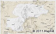 Classic Style Panoramic Map of Mong Kung