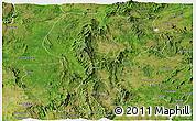 Satellite Panoramic Map of Mong Kung