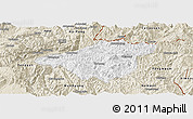 Classic Style Panoramic Map of Mong Mao