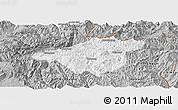 Gray Panoramic Map of Mong Mao