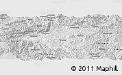 Silver Style Panoramic Map of Mong Mao