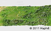 Satellite Panoramic Map of Mong Mit