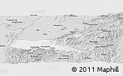 Silver Style Panoramic Map of Mong Mit