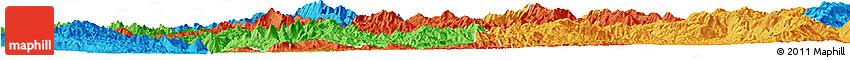 Political Horizon Map of Mong Ping