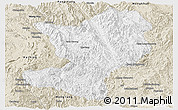Classic Style Panoramic Map of Mong Ping