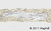 Classic Style Panoramic Map of Mong Yang