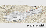 Classic Style Panoramic Map of Mong Yawng