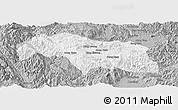 Gray Panoramic Map of Mongkhak