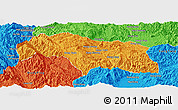 Political Panoramic Map of Mongkhak