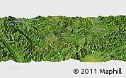 Satellite Panoramic Map of Mongkhak