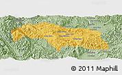 Savanna Style Panoramic Map of Mongkhak