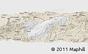 Classic Style Panoramic Map of Namhkan