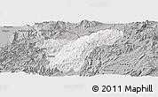 Gray Panoramic Map of Namhkan
