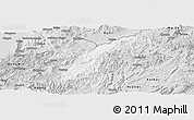Silver Style Panoramic Map of Namhkan