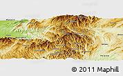 Physical Panoramic Map of Namhsan