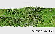 Satellite Panoramic Map of Namhsan