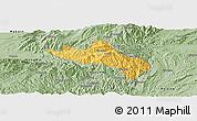 Savanna Style Panoramic Map of Namhsan
