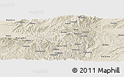 Shaded Relief Panoramic Map of Namhsan