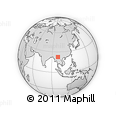 Outline Map of Nampan