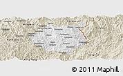 Classic Style Panoramic Map of Nampan