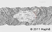 Gray Panoramic Map of Nampan
