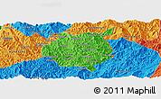 Political Panoramic Map of Nampan