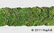 Satellite Panoramic Map of Nampan