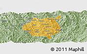 Savanna Style Panoramic Map of Nampan
