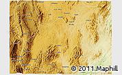 Physical 3D Map of Namsang