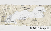 Classic Style Panoramic Map of Namsang