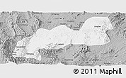 Gray Panoramic Map of Namsang