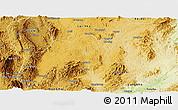 Physical Panoramic Map of Namsang