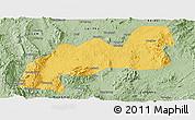 Savanna Style Panoramic Map of Namsang