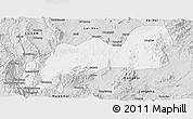 Silver Style Panoramic Map of Namsang