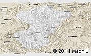 Classic Style Panoramic Map of Pang-Yang
